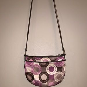 Funky, Colorful, Coach Crossbody